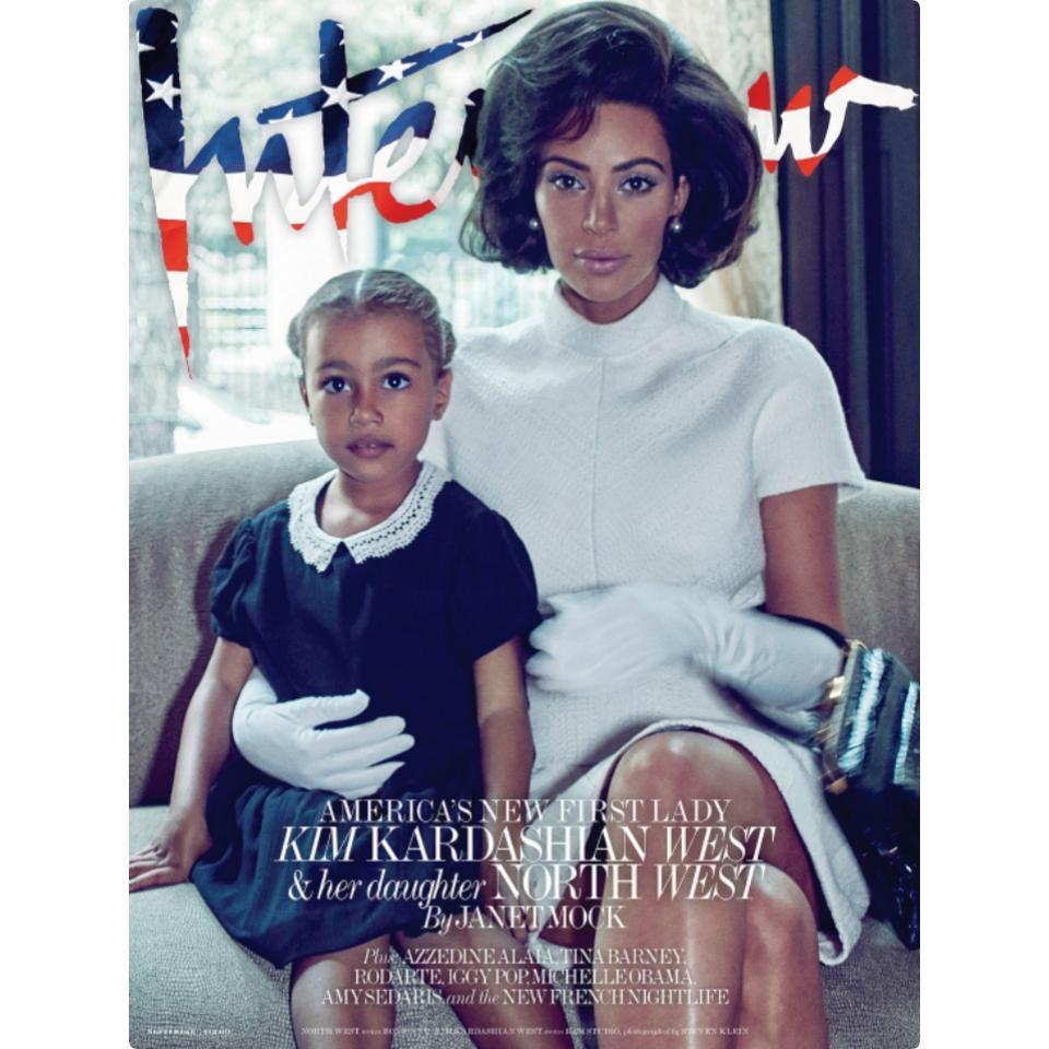 Kim Kardashian Channels Jackie Kennedy