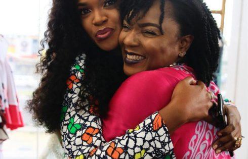 Chioma Akpotha And Omoni Oboli