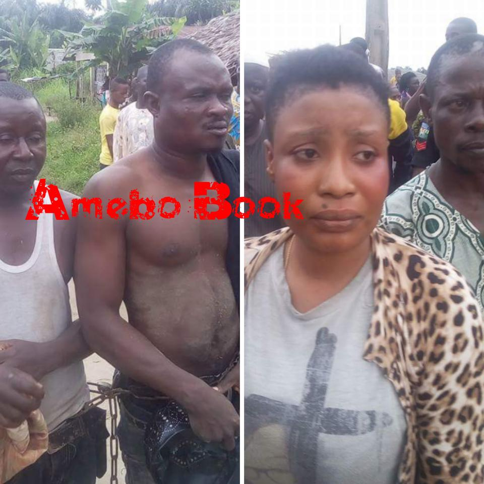 Alfa Was Caught While Trying To Use Woman For Rituals In Lagos (4)