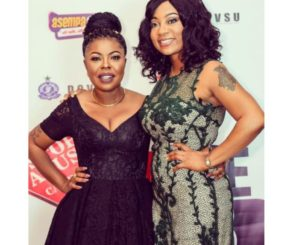 Vicky Zugah Shows Support For Afia Schwarzenegger After Marriage Crises