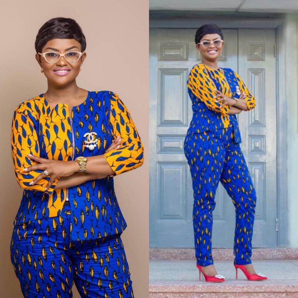 Nana Ama McBrown Steps Out Looking Stylish