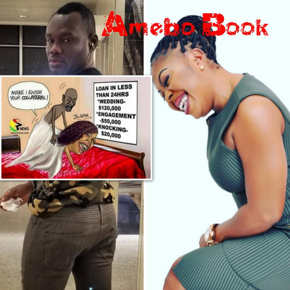 Prince David Osei Fires Afia Schwarzenegger With Doggy Style Image While Mocking