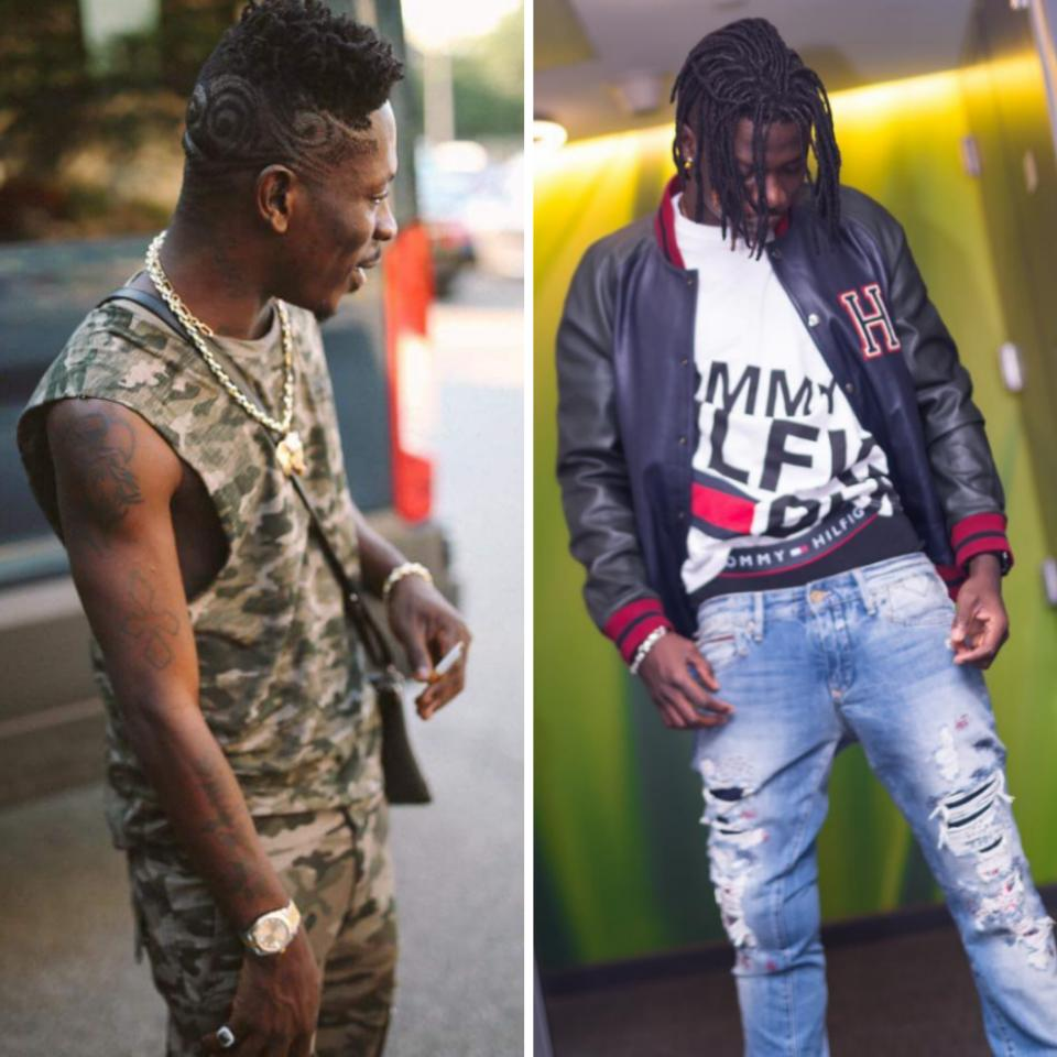 Shatta Wale Takes Shots At Stonebwoy For Travelling About And Taking Pictures