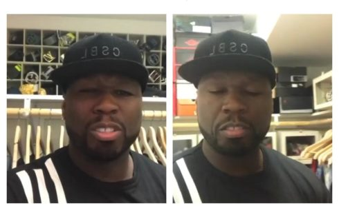 50 Cent Shows Off His Expensive Designer Belt Collection