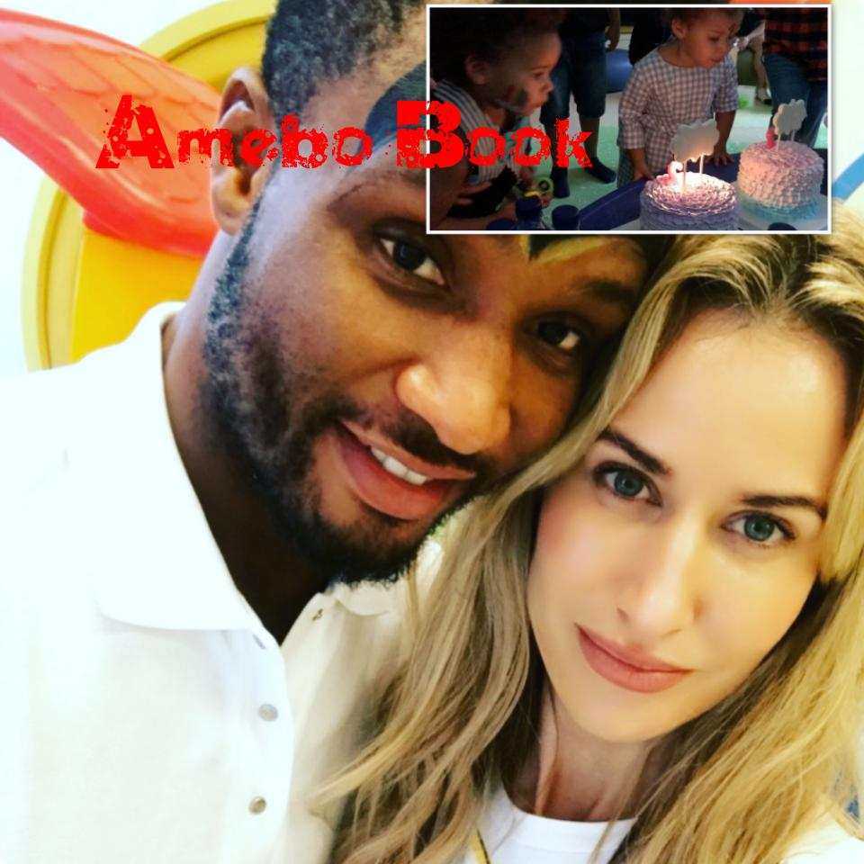 Mikel Obi And Olga Allegra Celebrate Their Twin Daughters Second Birthday (1)