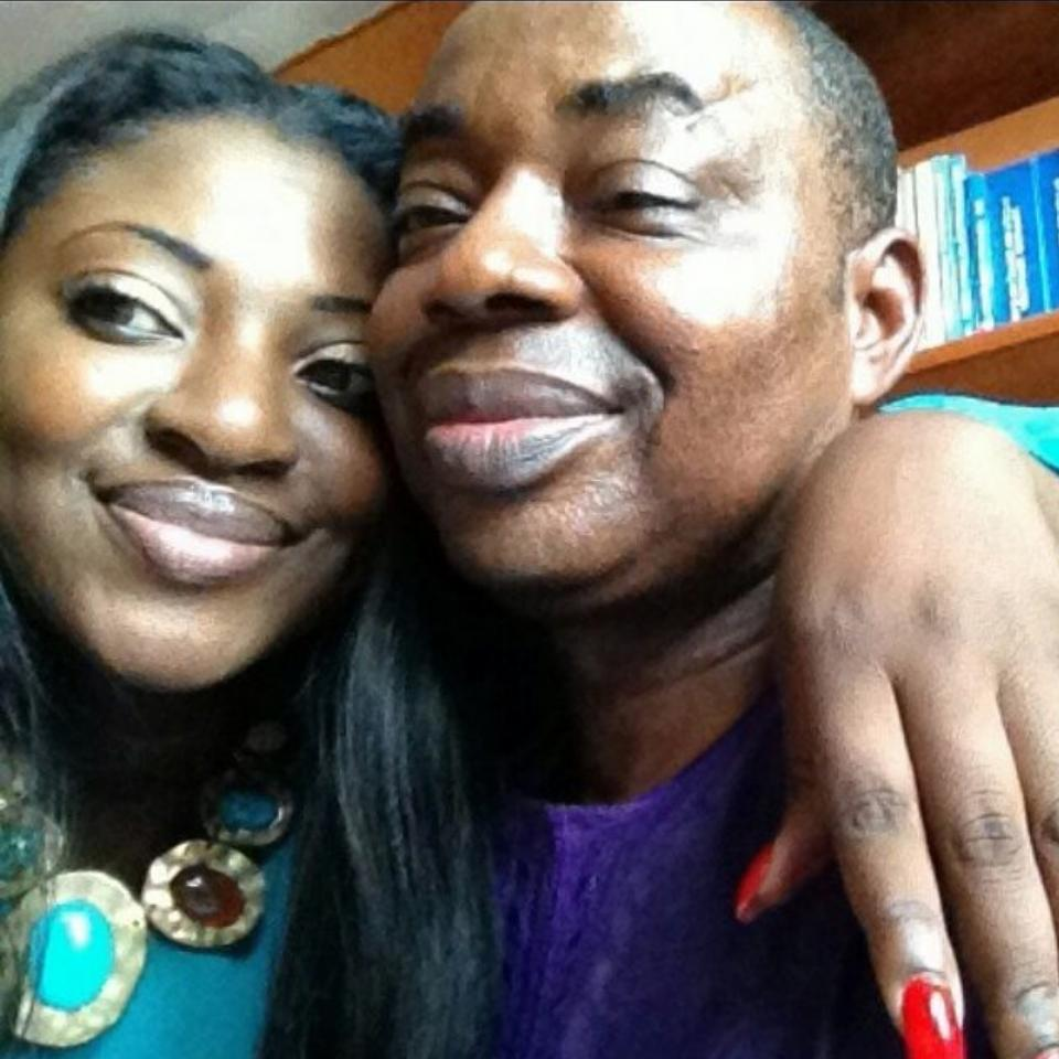 Yvonne Jegede Is The Spitting Image Of Her Father
