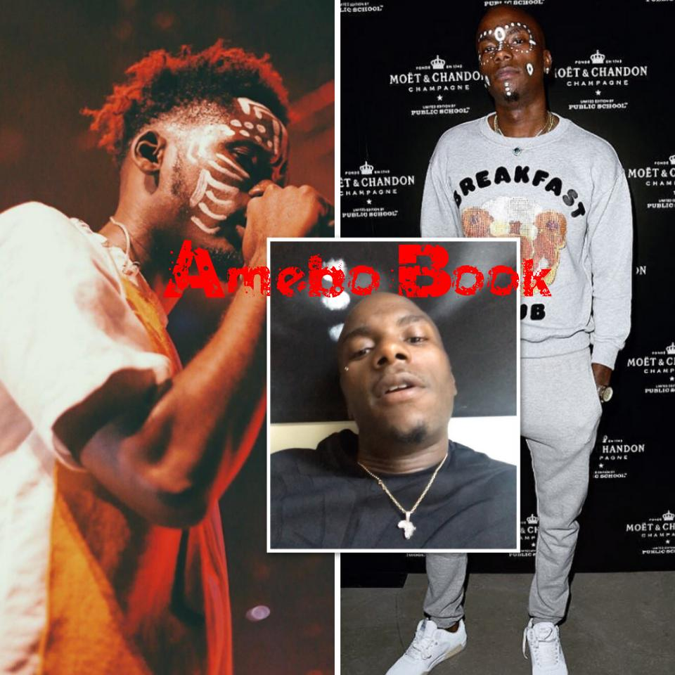 Young Paris Calls Out Mr Eazi For Talking A Lot Of Shit