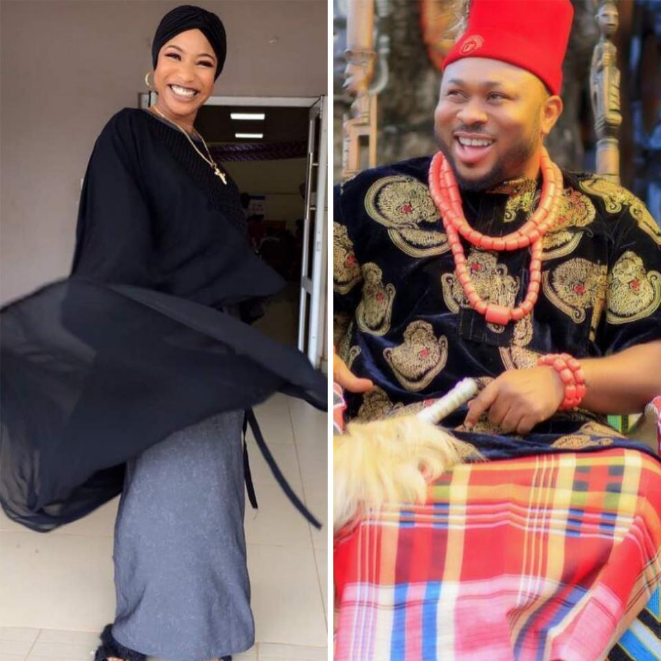 Olakunle Churchill Reacts To Drama Between Tonto Dikeh And Journalist Azuka Ogujiuba