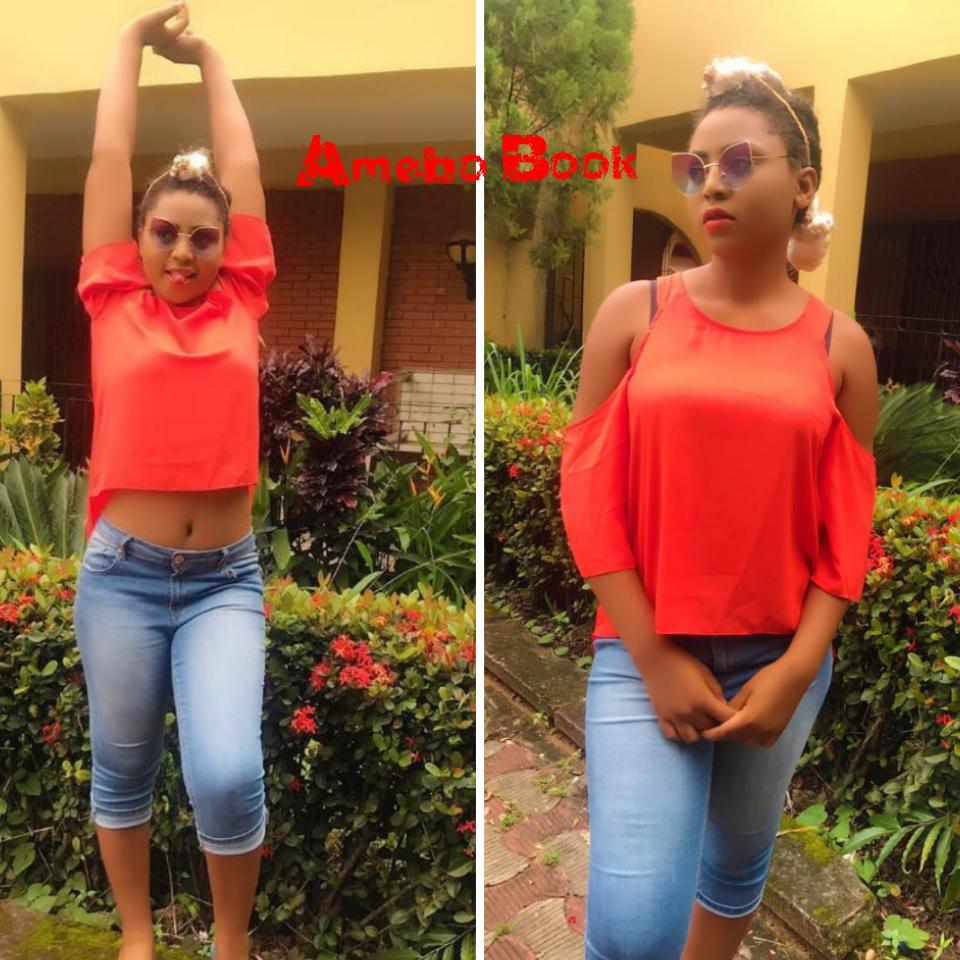 Regina Daniels Celebrates Going To School As A Year 1 Student