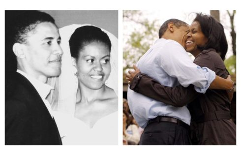 Michelle And Barack Obama Celebrate 25th Wedding Anniversary