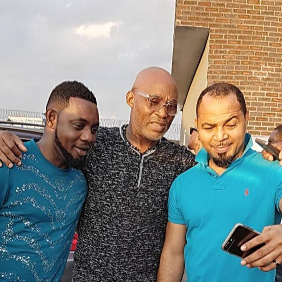 Comedian AY Pictured Alongside Ramsey Noah And RMD