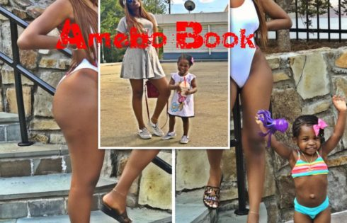 Sophia Momodu And Daughter Imade Adeleke Rock Swimwear