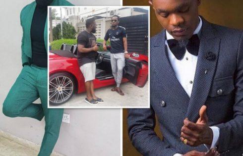Timaya Hails Patoranking Over His Brand New Ferrari