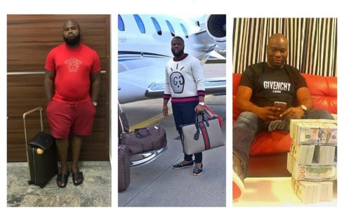 Hushpuppi Mocks His Haters While Boarding A Private Jet