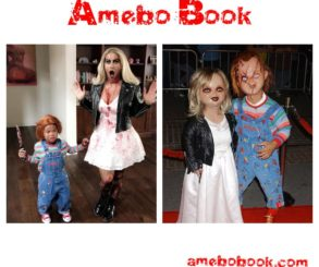 Amber Rose And Son Sebastian Channel Tiffany And Chucky For Halloween