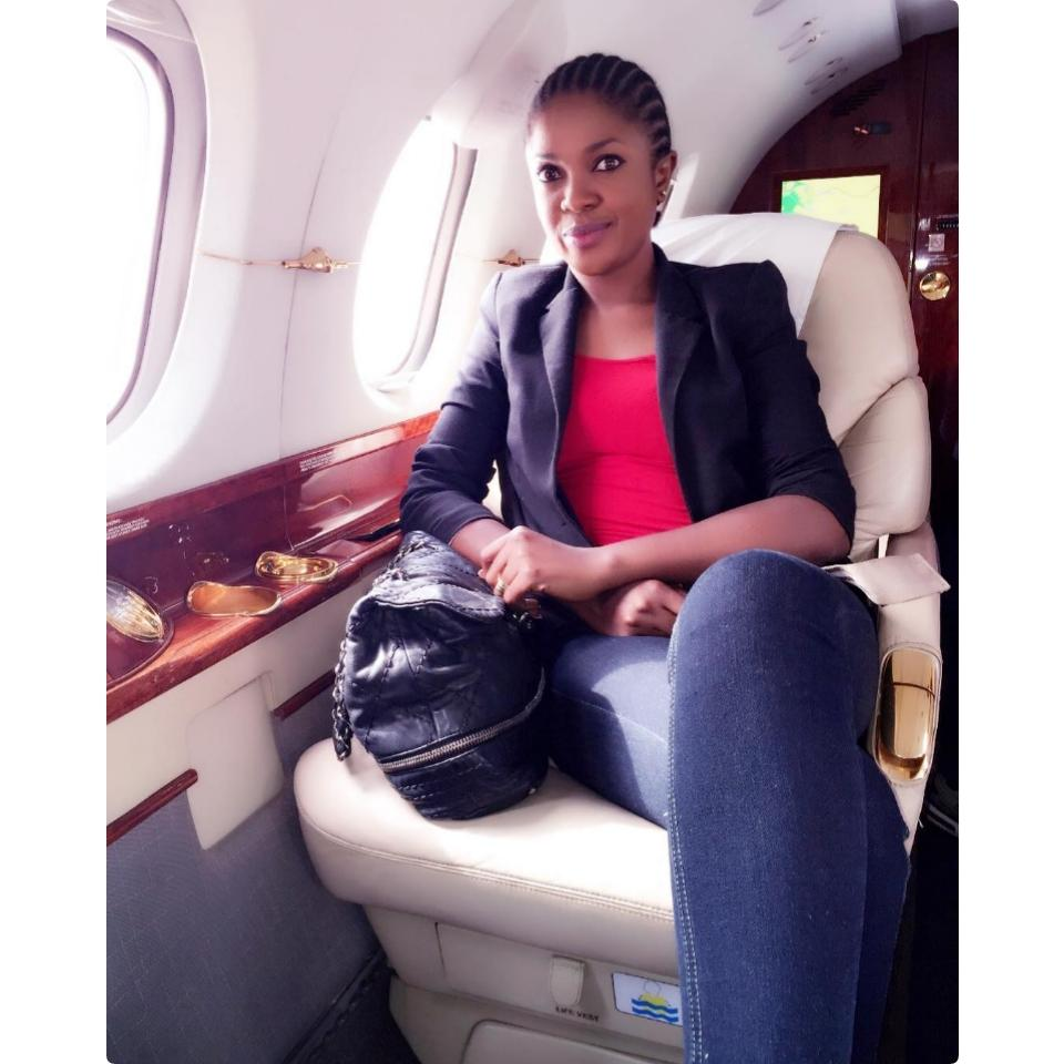 Omoni Oboli Declares She Would Own A Private Jet