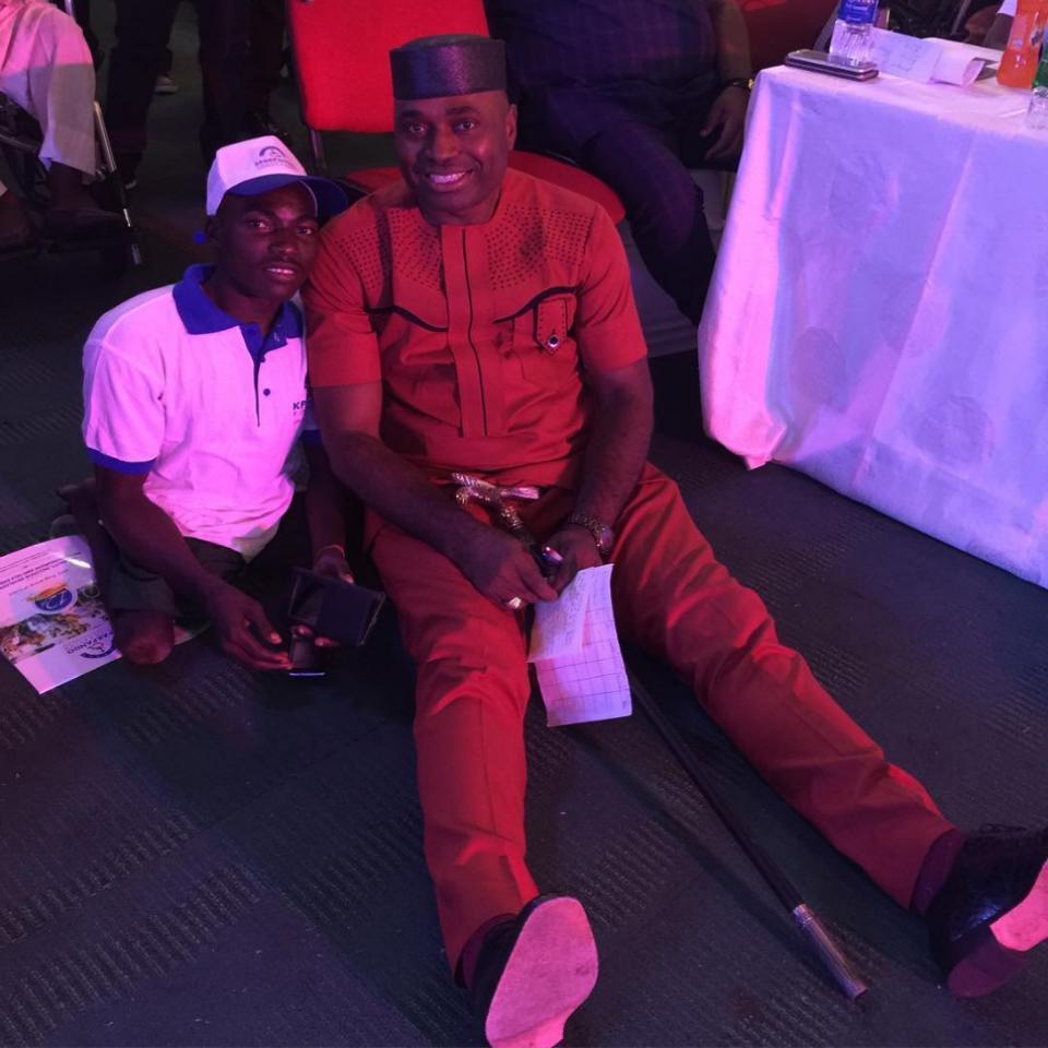 Kenneth Okonkwo Was At The Kpakpando Foundation