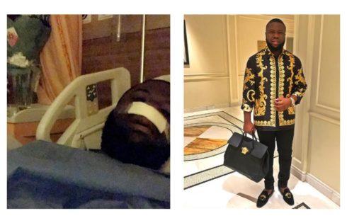 Nigerians Troll Hushpuppi After He Underwent Surgery