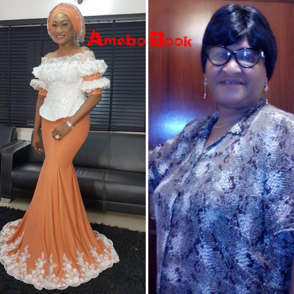 Oge Okoye Celebrates Mum On Her Birthday