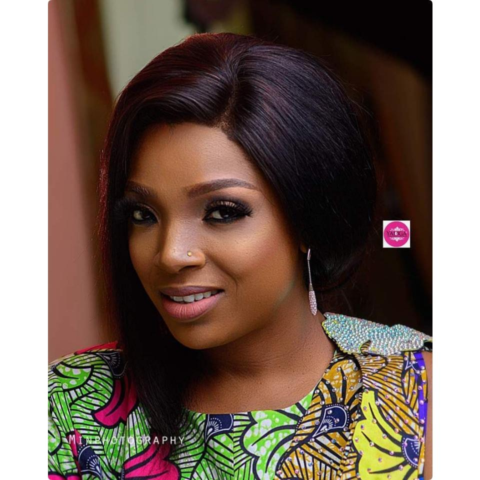 Annie Idibia Totally Slayed These Makeup Photos