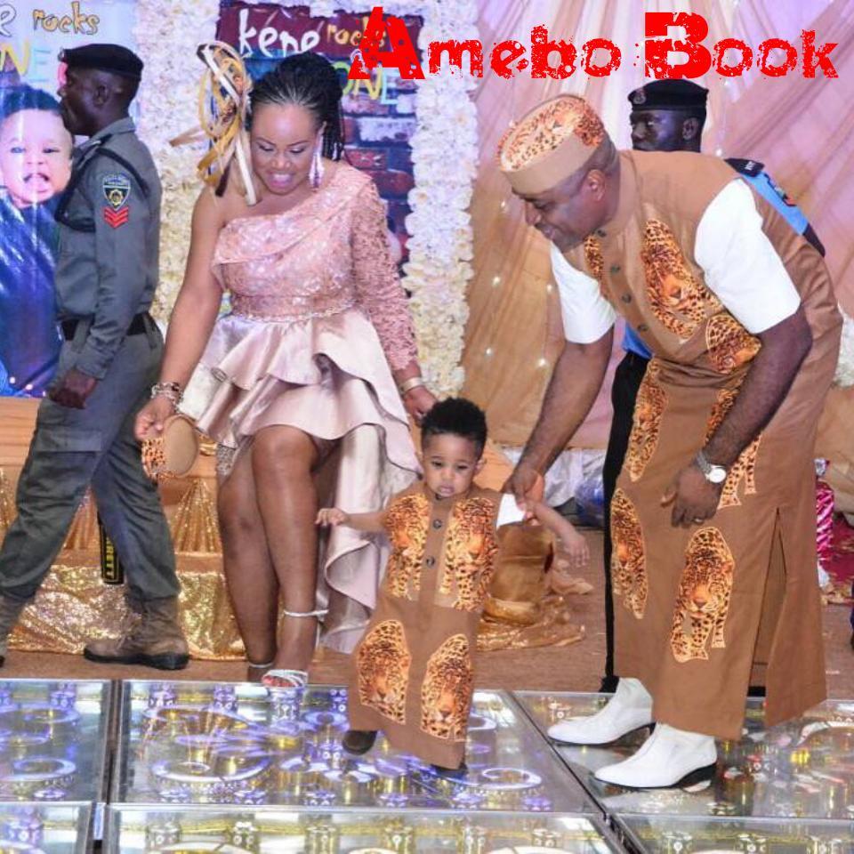 Kenneth Okonkwo Gushes Over Wife