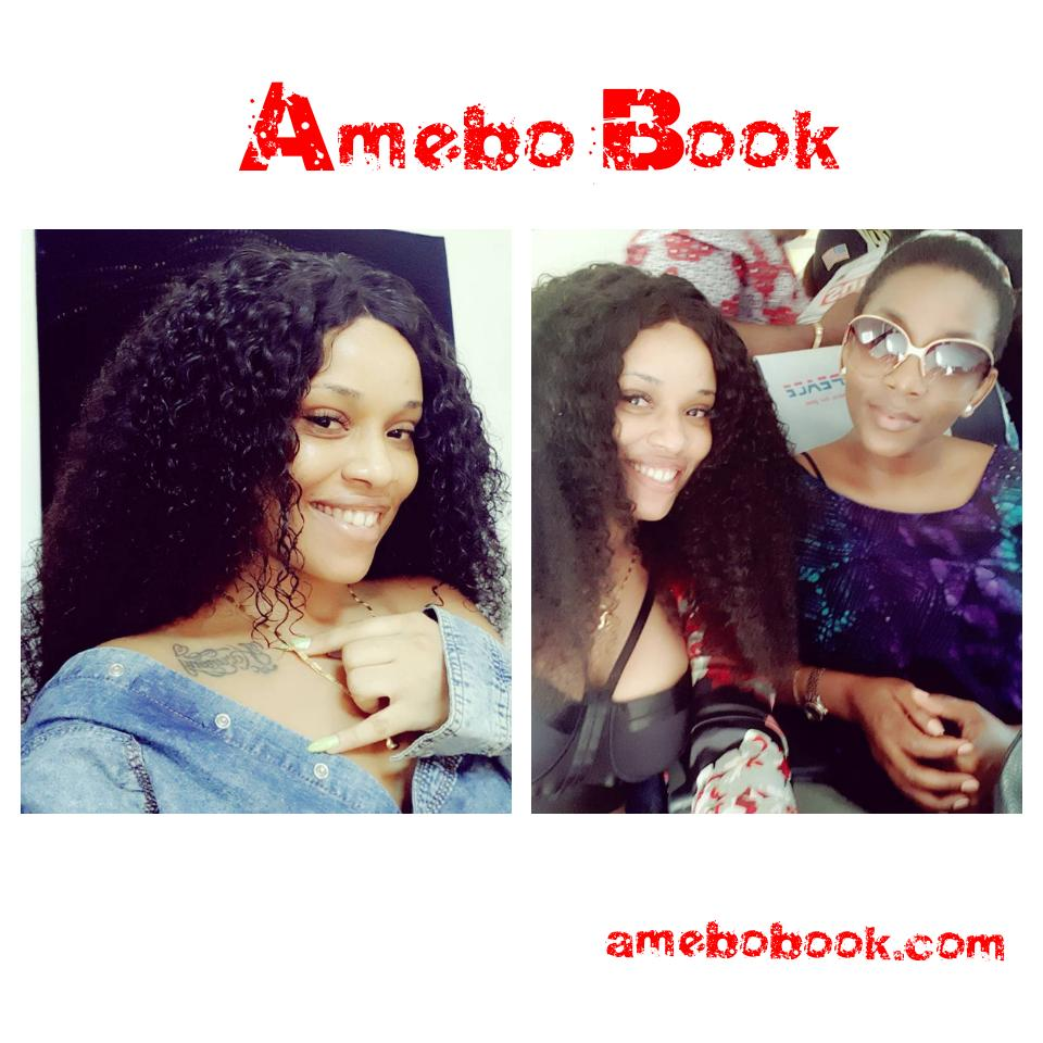 Onyii Alex Meets Genevieve Nnaji For The First Time