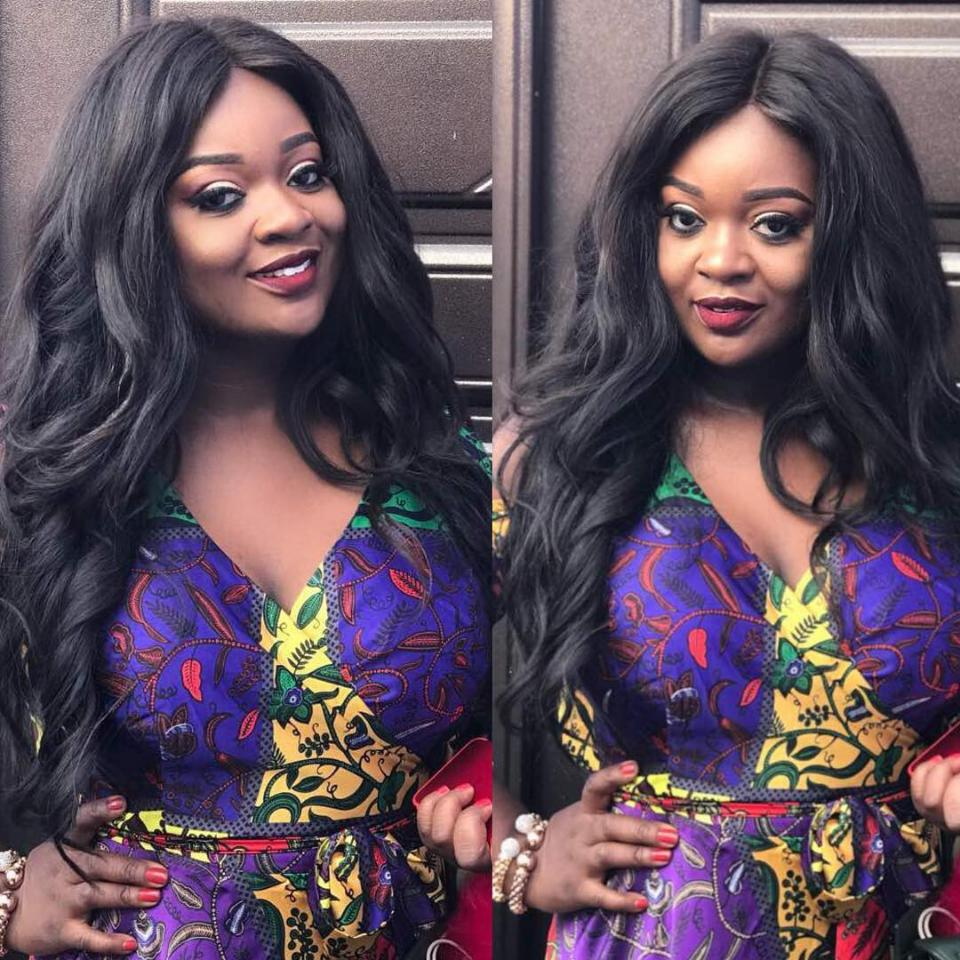 Jackie Appiah Completely Slays In Silk Ankara