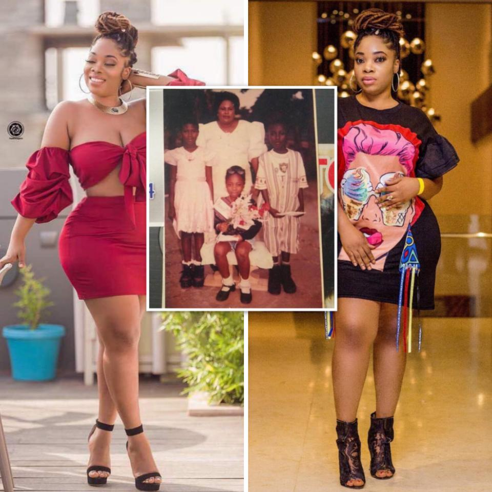 Moesha Boduong Throwback Photo When She Was Crowned Best Dancer