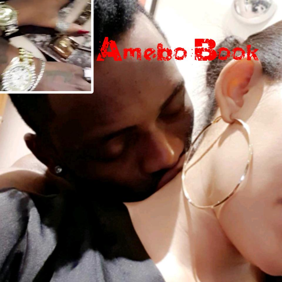 Diamond Platnumz And Zari Share PDA Moments While Flaunting Matching Diamond Rolex Watches