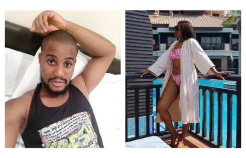 Ebube Nwagbo And Alex Ekubo In Romantic Exchange