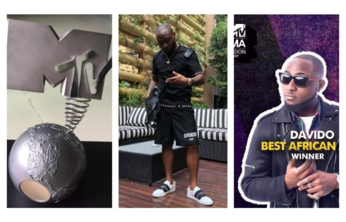 Davido's Reaction After He Was Named MTV Best African Act 2017
