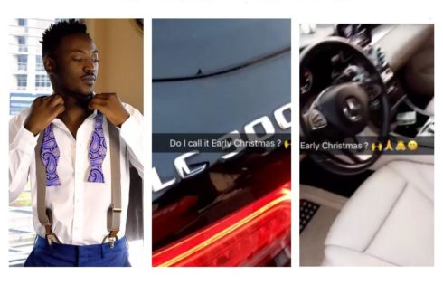 Dammy Krane Buys Himself A GLC300 Benz