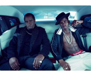 Diddy And Son Christian Vogue Magazine December Issue