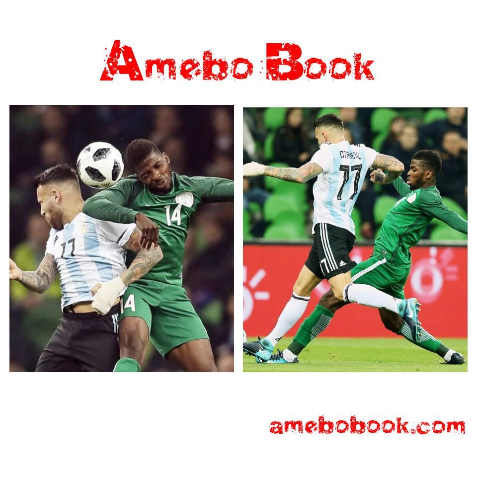 Nigerians Descend on Otamendi's Instagram Page After He Shoved Kelechi Iheanacho