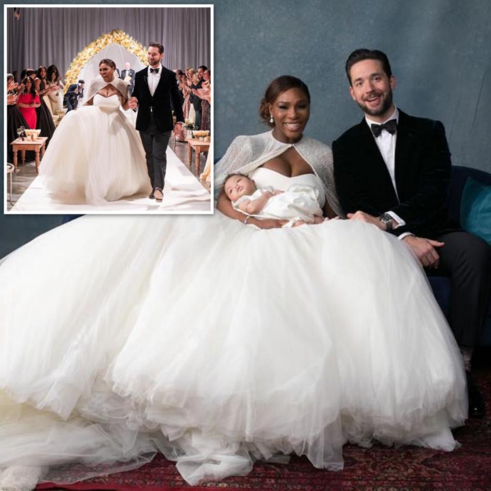 Official Photos Serena Williams' Wedding To Alex Ohanian