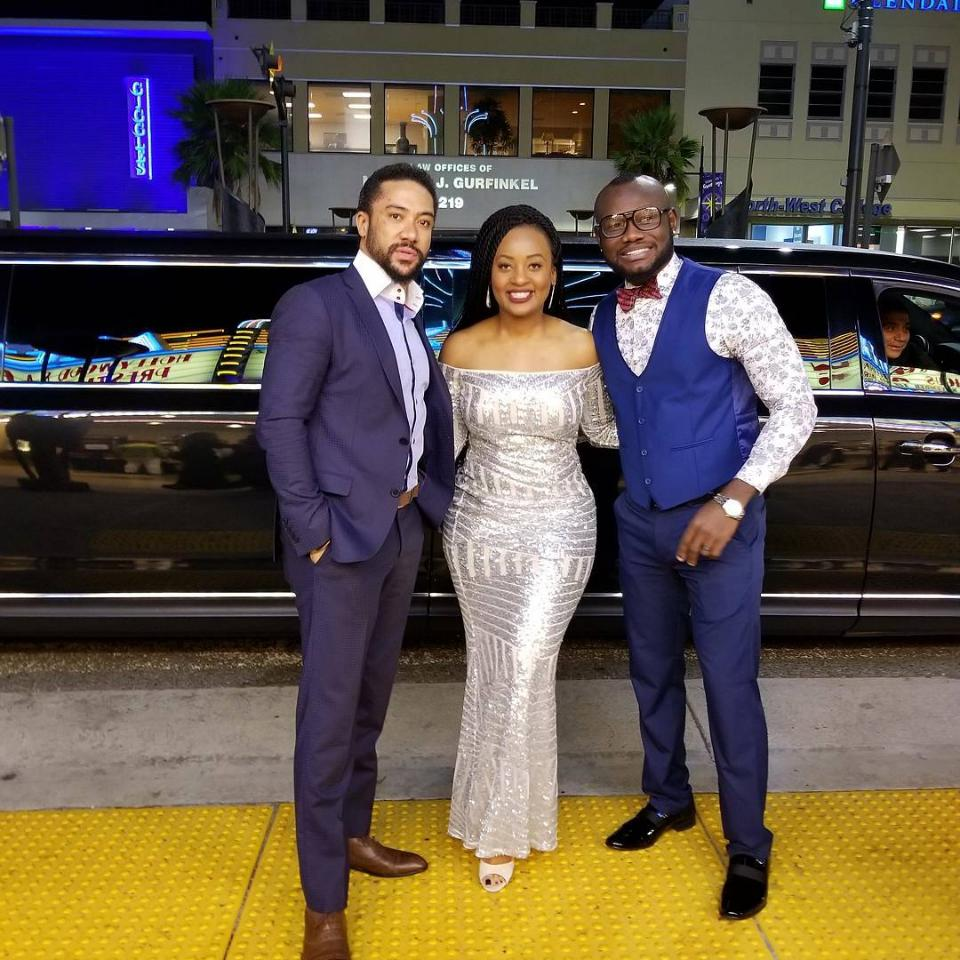 Majid Michel And Prince David Osei Were Spotted Together At The HAPA Awards