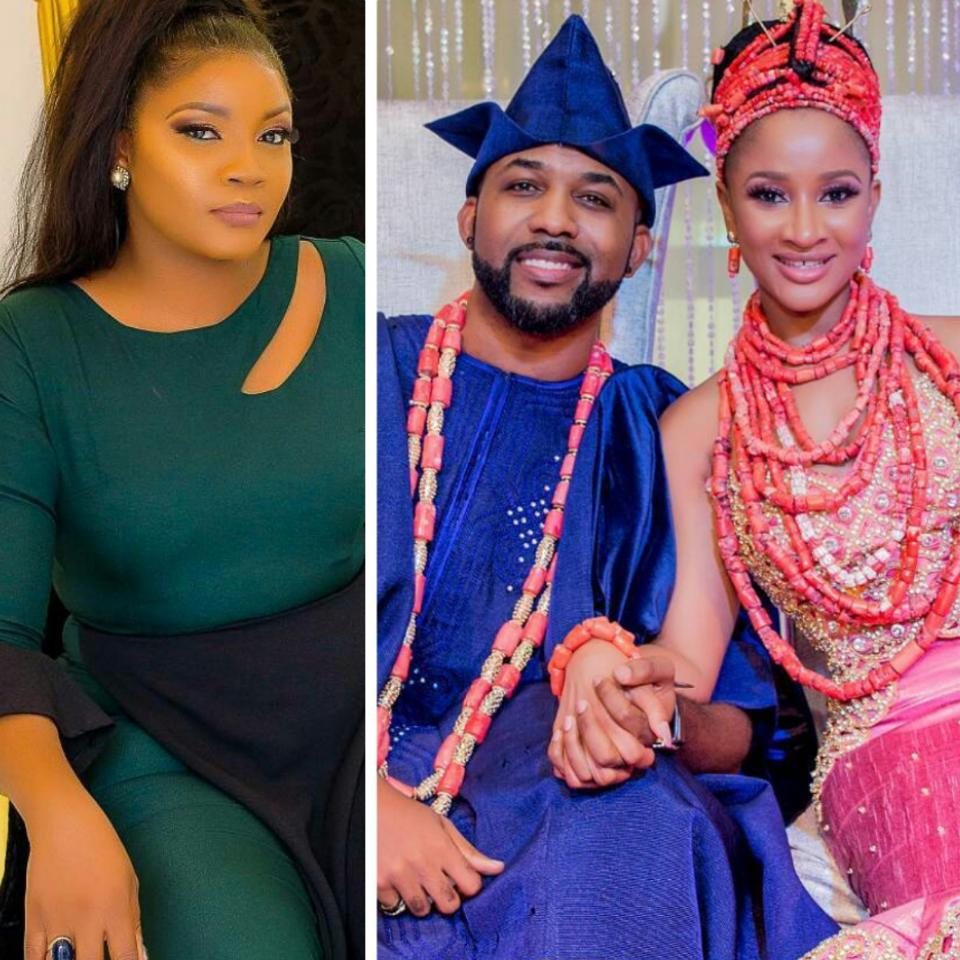 Omotola Jalade Tells Newly-weds Banky W And Adesua Etomi To Stay Off Social Media