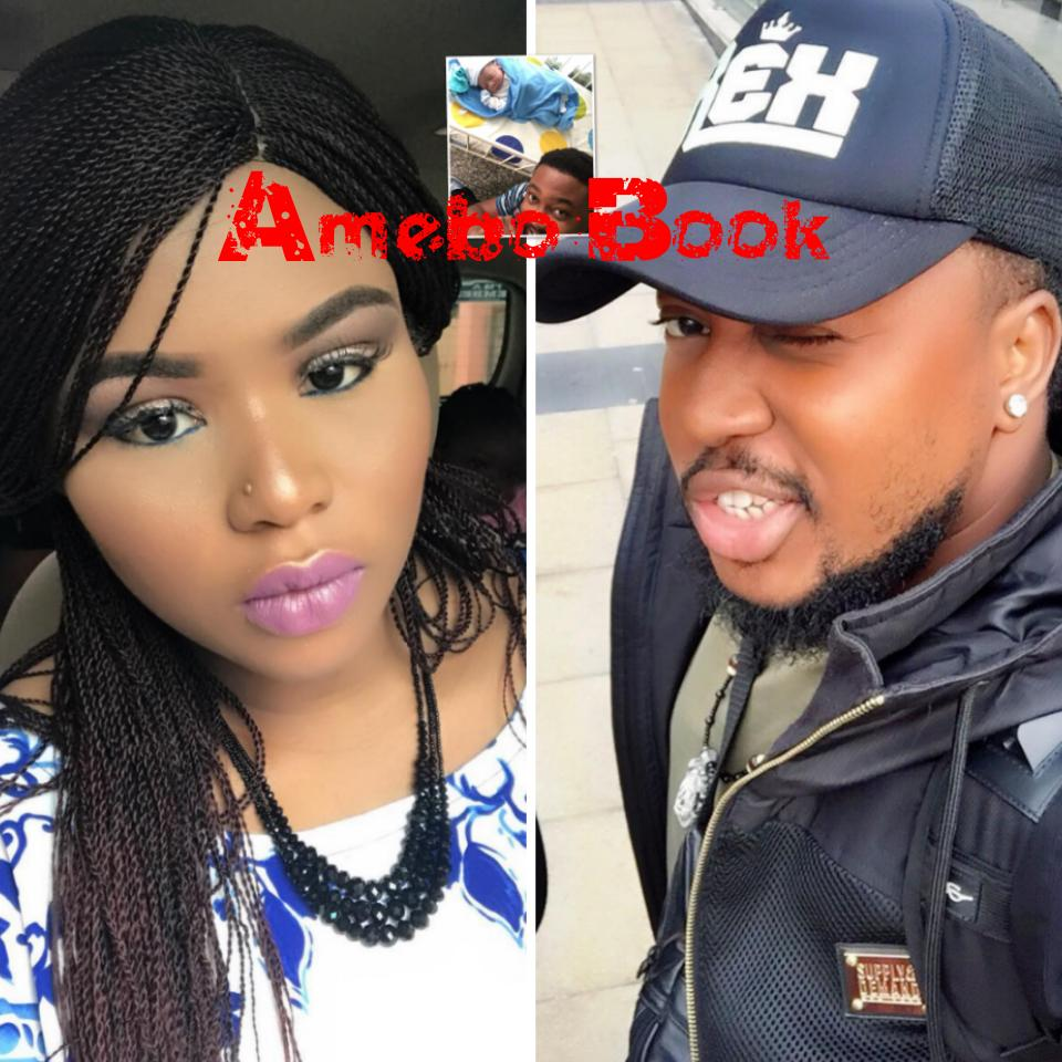 Tongue Cardi Bs: Issa Celebrity Baby! Nollywood's Nosa Rex And Wife Deborah