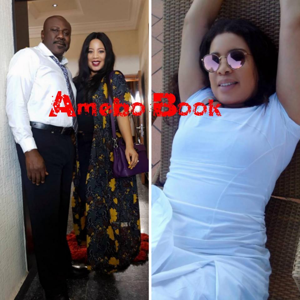 Monalisa Chinda Pictured Alongside Sam Dede