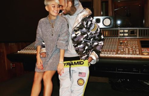 Chris Brown Shows Off His Stunning New Indonesian Girlfriend Agnez Mo
