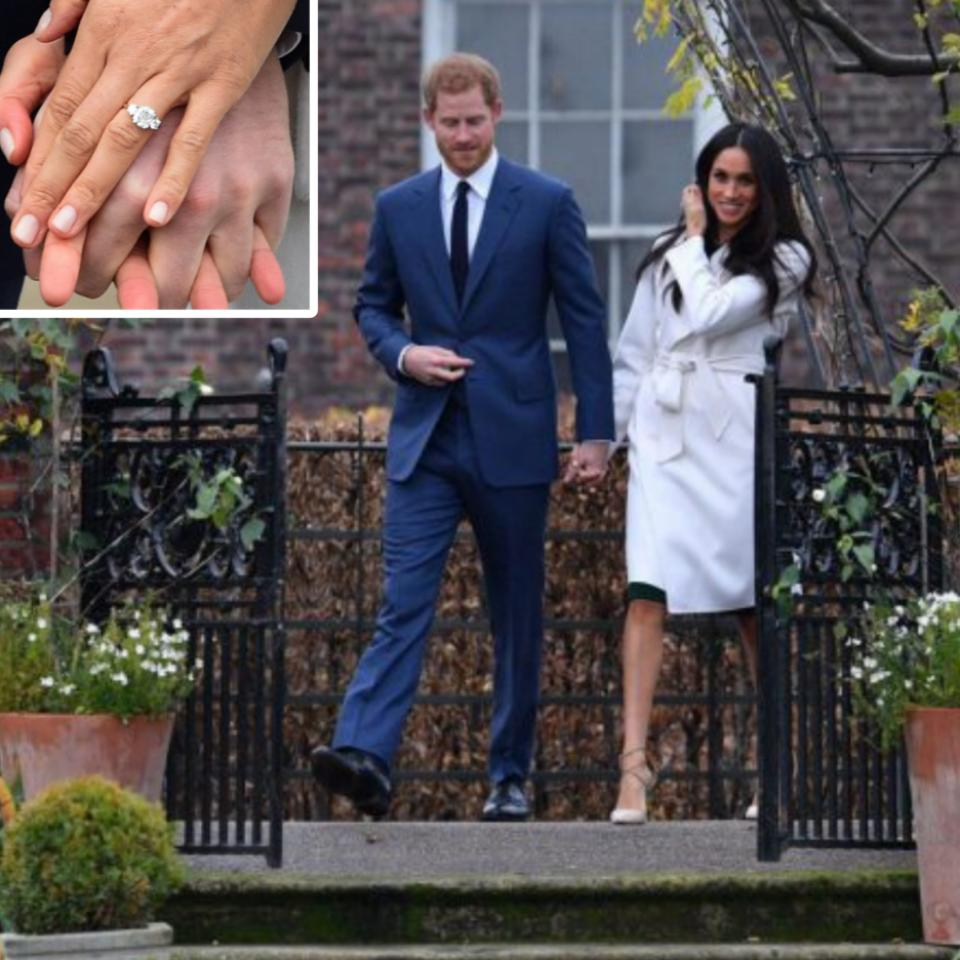 Meghan Markle's Ring After Engagement To Prince Harry