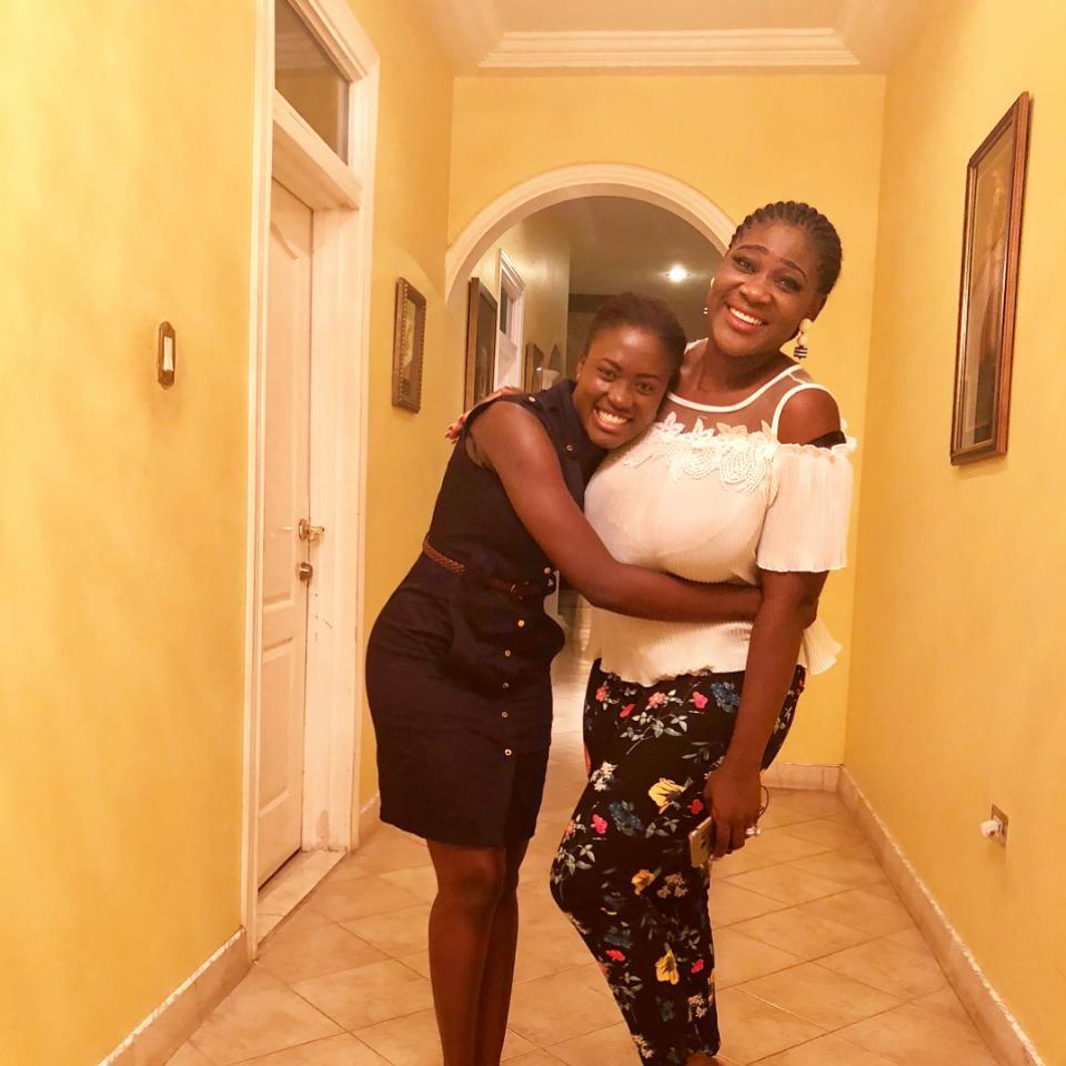 Fella Makafui Pictured Alongside Mercy Johnson
