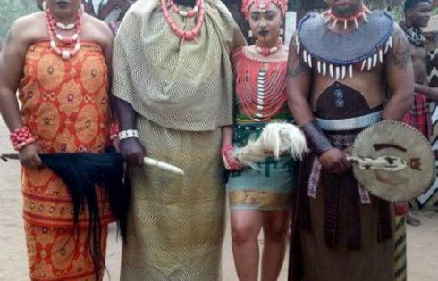 Rosy Meurer Pictured Alongside Walter Anga With Ejike Asiegbu And Rita Daniels