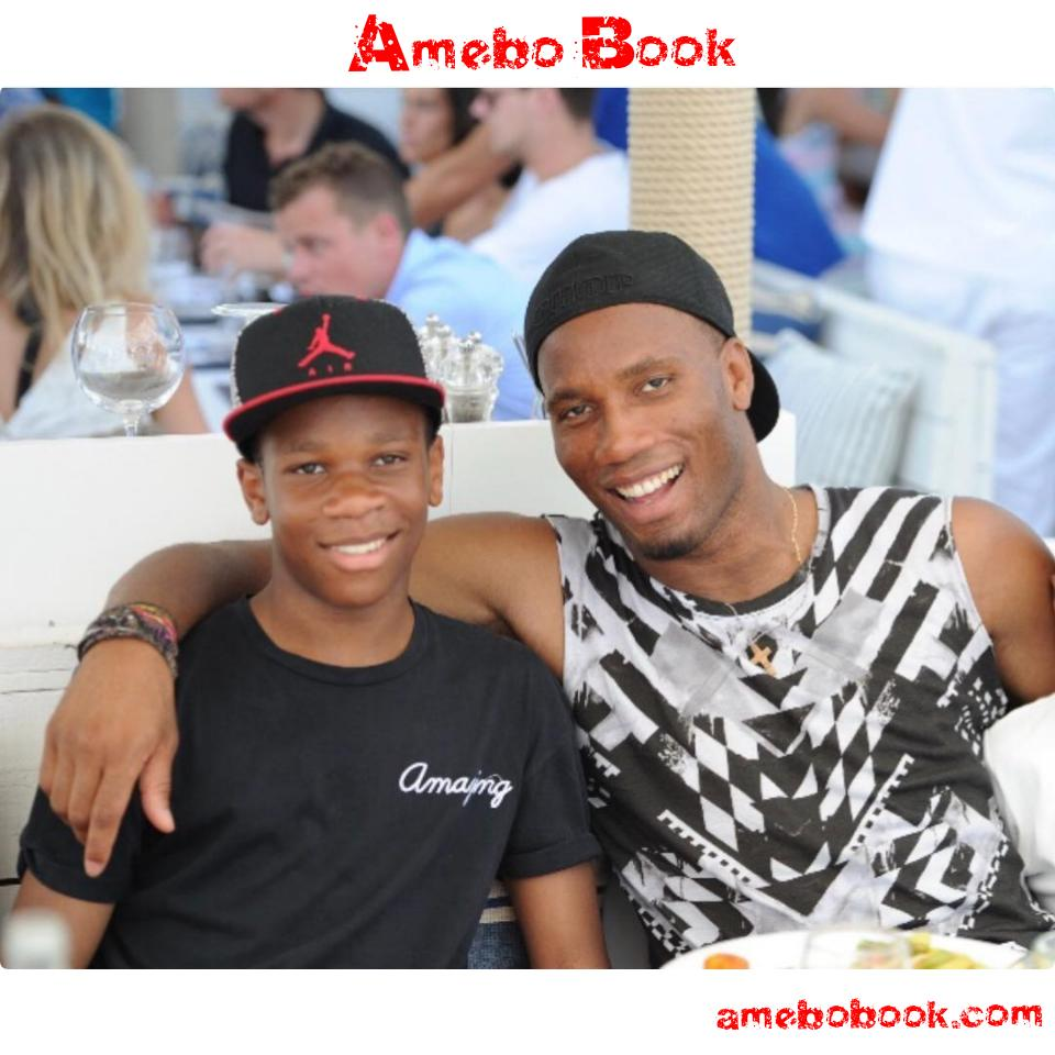 Didier Drogba Wishes His Son Isaac Happy Birthday