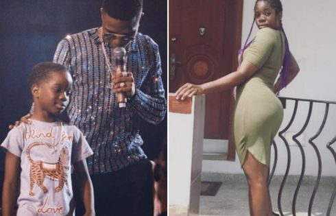 Wizkid's 1st Baby Mama Shola Ogudu Gushes Over Photo Of Singer And Their Son