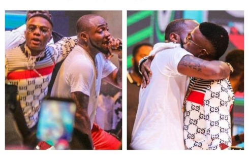Davido And Wizkid Performed 'Manya' Together At His #30BillionConcert