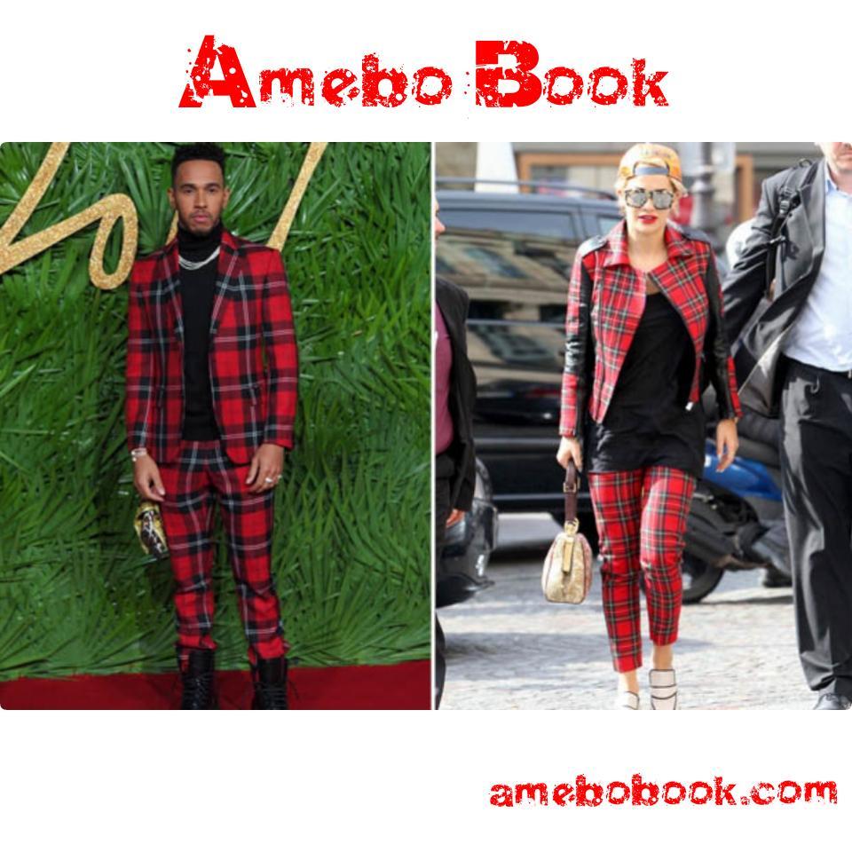 Lewis Hamilton Actually Dresses Like Rita Ora