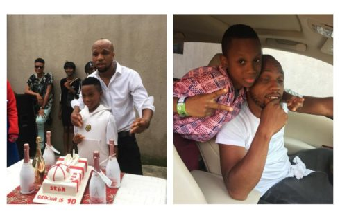 Charles Okocha Celebrates His Son As He Hits 10