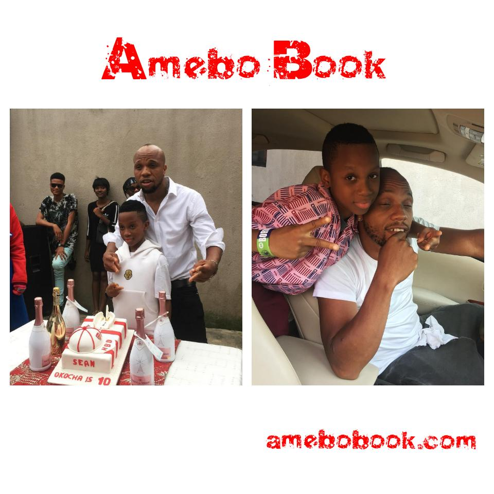 Charles Okocha Celebrates His Son As He Hits 10