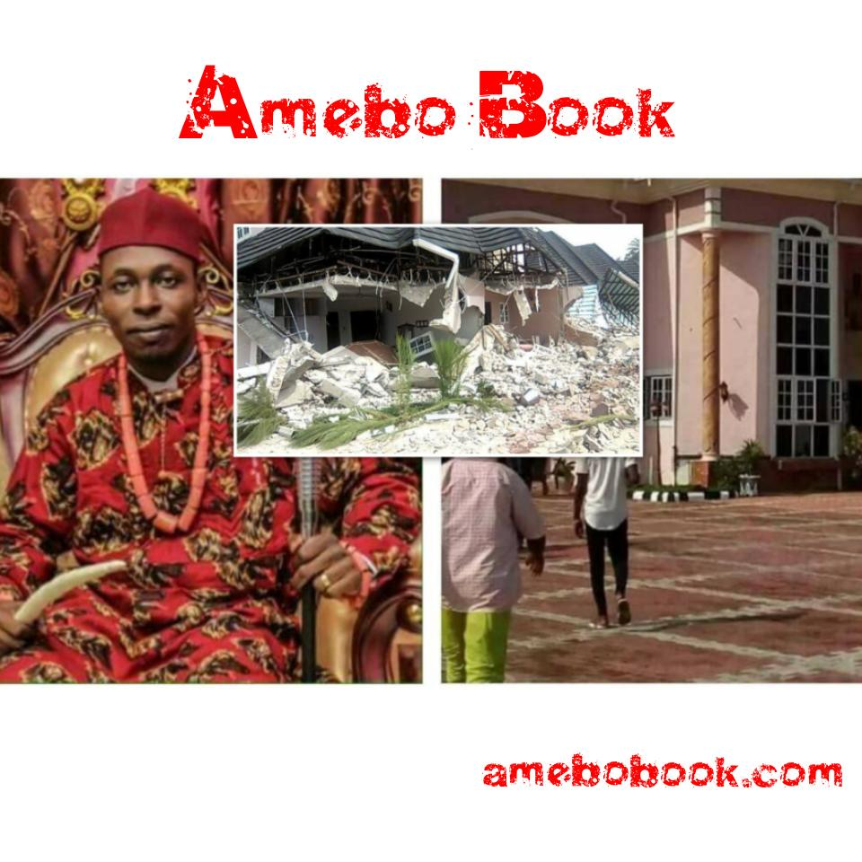 Don Waney Mansion Demolished In Rivers State